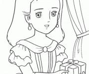 Coloriage et dessins gratuit Princesse Sarah 5 à imprimer