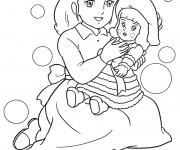 Coloriage et dessins gratuit Princesse Sarah 7 à imprimer