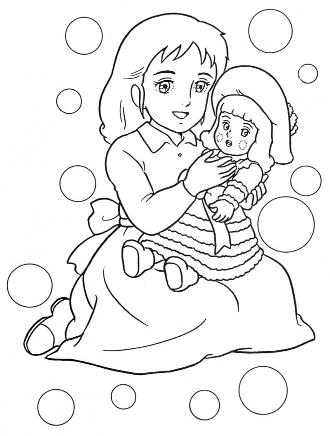 Coloriage et dessins gratuits Princesse Sarah 7 à imprimer