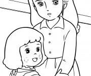 Coloriage et dessins gratuit Princesse Sarah 8 à imprimer