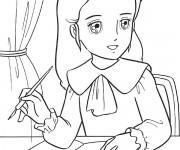 Coloriage et dessins gratuit Princesse Sarah 9 à imprimer