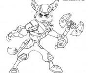 Coloriage et dessins gratuit Ratchet et Clank 16 à imprimer