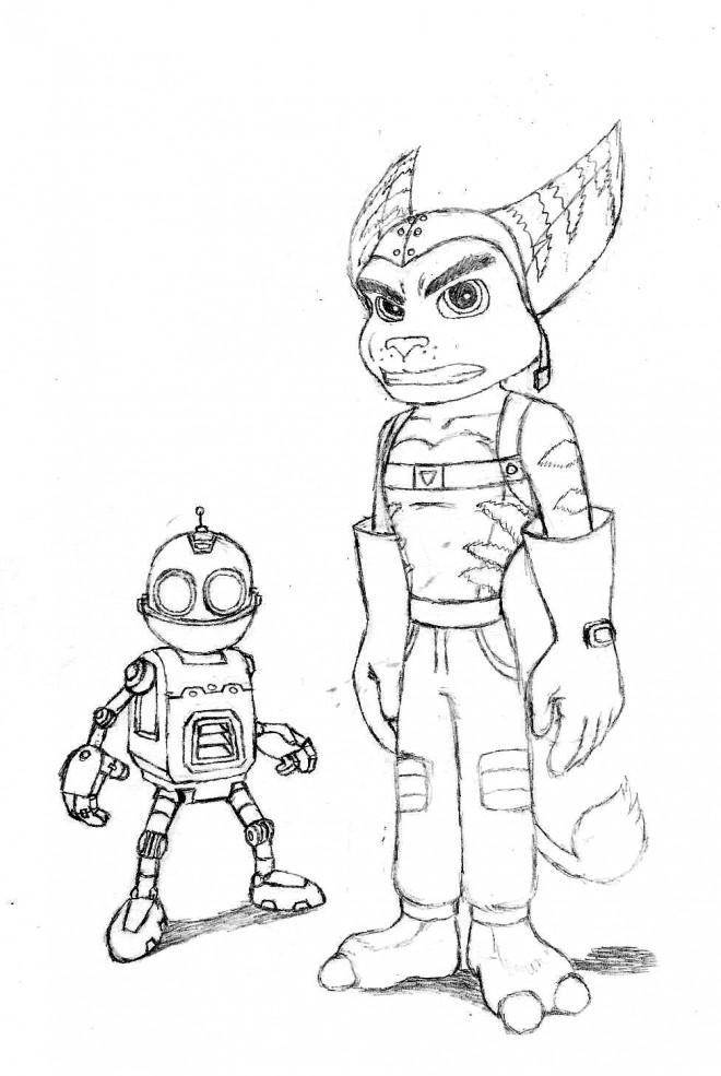 Coloriage et dessins gratuits Ratchet et Clank 2 à imprimer