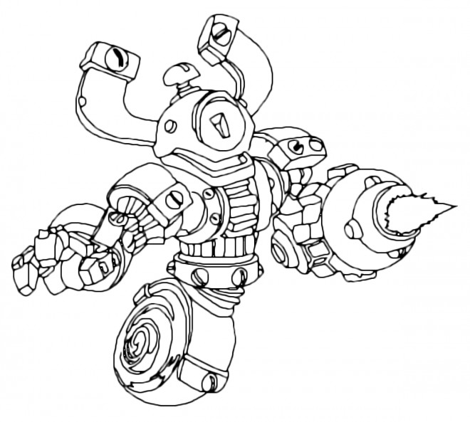 Coloriage et dessins gratuits Ratchet et Clank 24 à imprimer