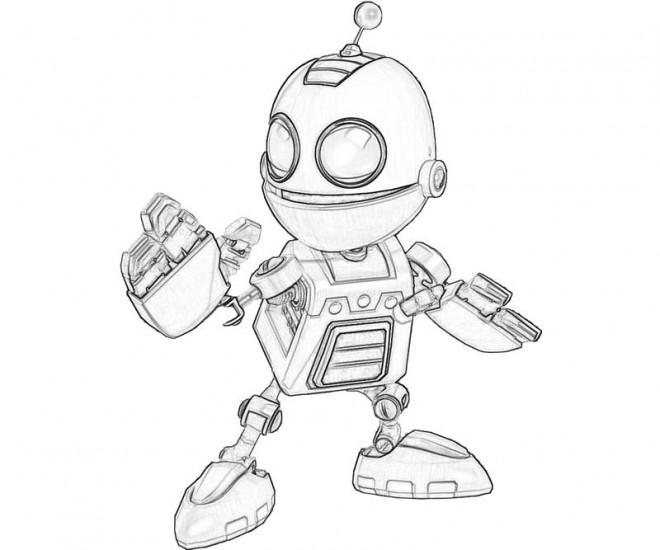 Coloriage et dessins gratuits Ratchet et Clank 3 à imprimer