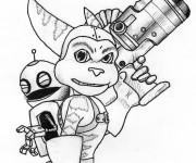 Coloriage Ratchet et Clank 5