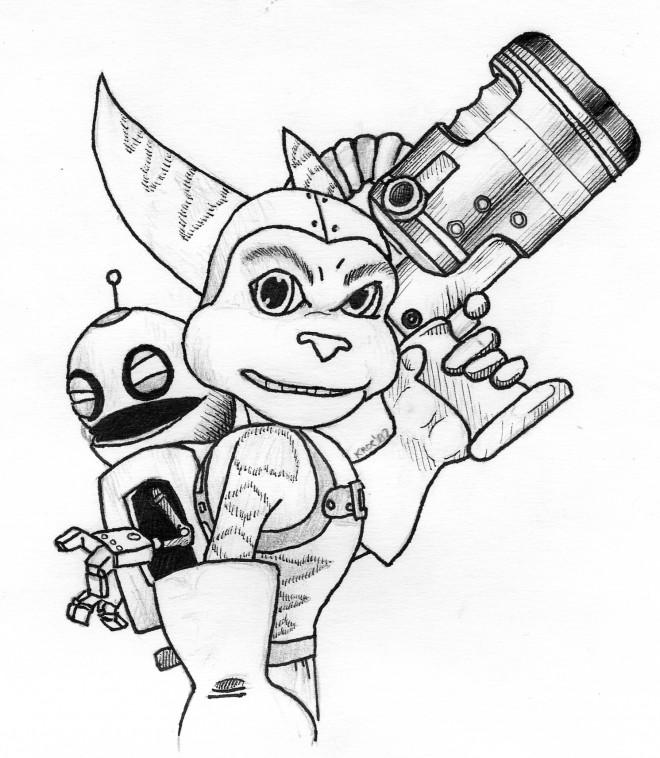 Coloriage et dessins gratuits Ratchet et Clank 5 à imprimer