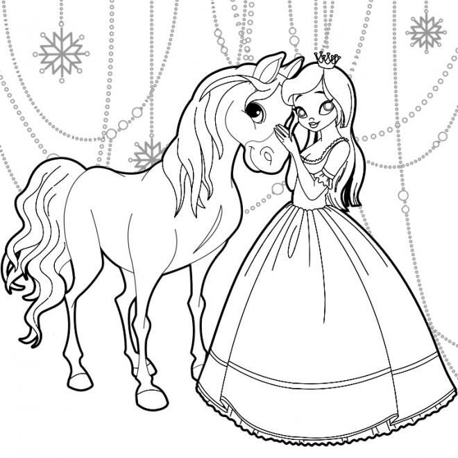 Coloriage reine des neiges colorier gratuit - Coloriage princesse des neiges ...