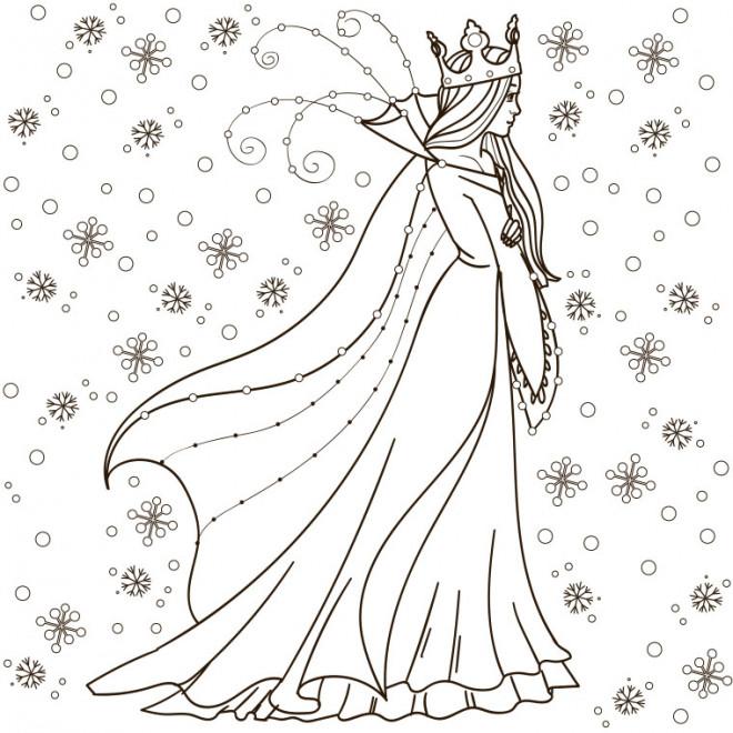Coloriage reine des neiges t l charger gratuitement - Telechargement de la reine des neiges ...