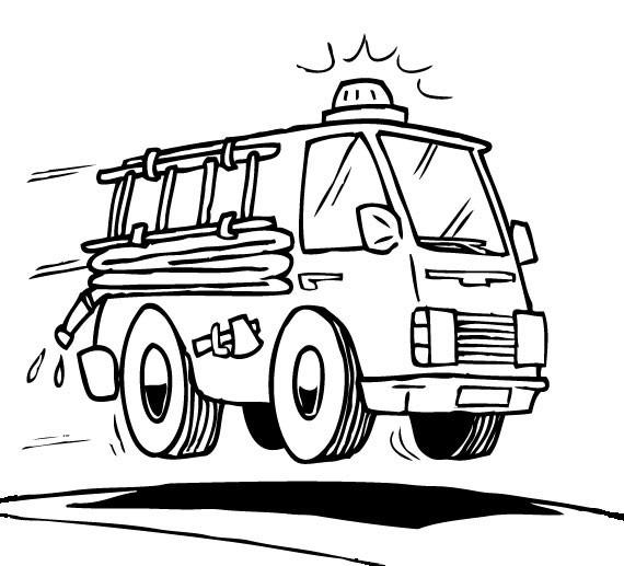 Coloriage Pompier Sam dessin gratuit à imprimer