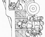 Coloriage et dessins gratuit Sam le Pompier 14 à imprimer