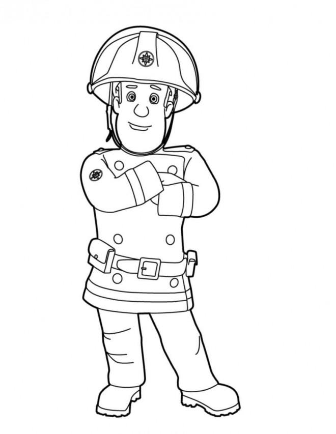 Coloriage et dessins gratuits Sam le Pompier 2 à imprimer