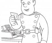 Coloriage et dessins gratuit Sam le Pompier 21 à imprimer