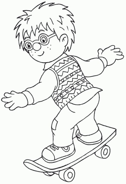 coloring book pages fireman - photo#13