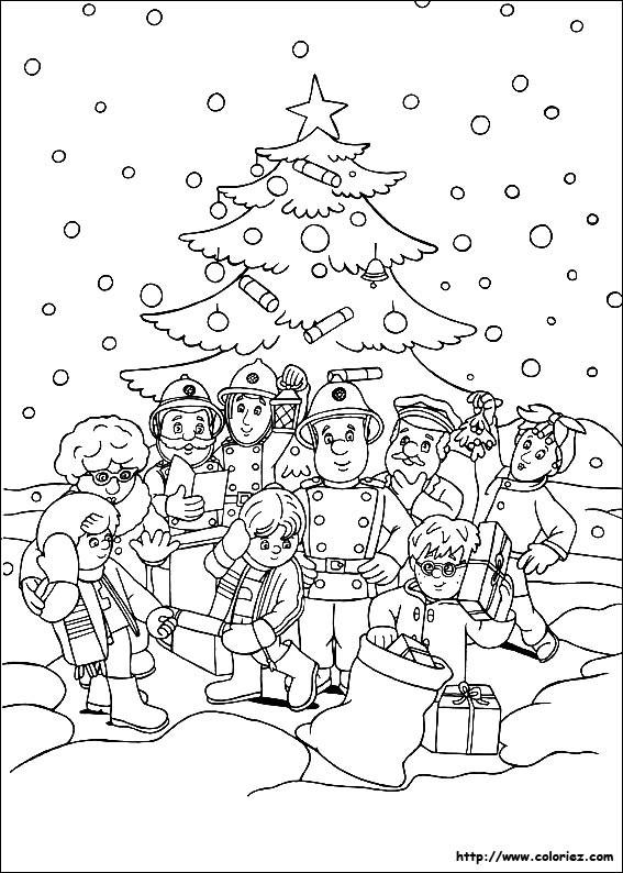 Coloriage et dessins gratuits Sam le Pompier 23 à imprimer