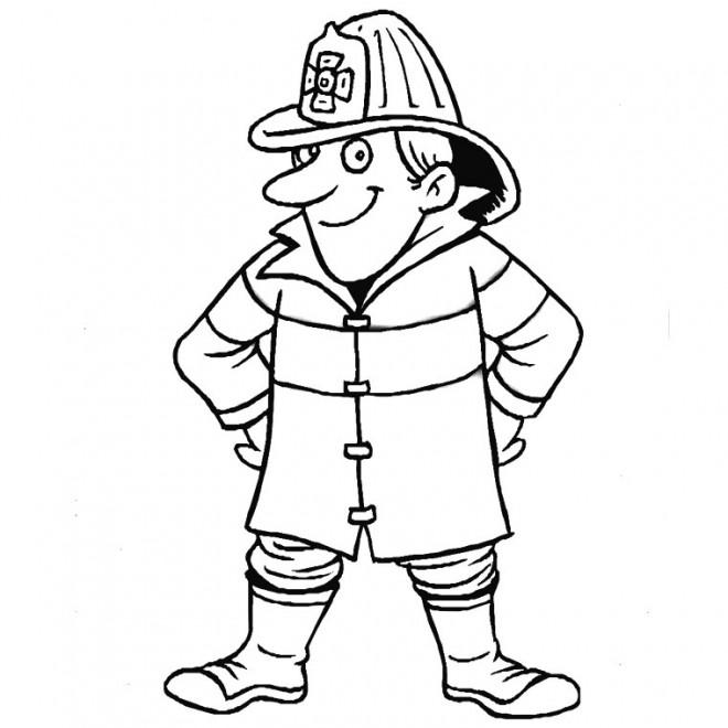 Coloriage et dessins gratuits Sam le Pompier 26 à imprimer