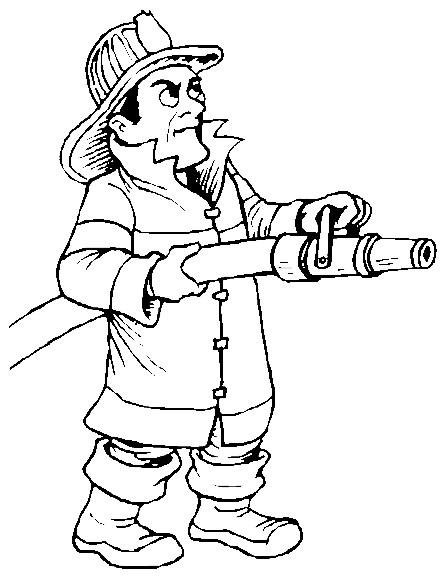 Coloriage et dessins gratuits Sam le Pompier 28 à imprimer