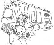 Coloriage sam le pompier 32 dessin gratuit imprimer - Dessin anime sam sam ...