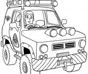 Coloriage sam le pompier 3 gratuit imprimer en ligne - Dessin anime sam sam ...