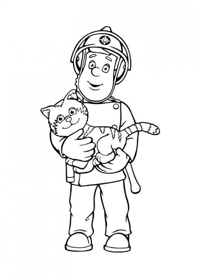 Coloriage sam le pompier 36 dessin gratuit imprimer - Dessin de pompiers a imprimer ...