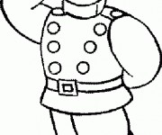 Coloriage sam le pompier gratuit imprimer liste 40 60 - Dessin anime sam sam ...