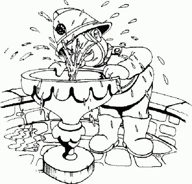 Coloriage et dessins gratuits Sam le Pompier 47 à imprimer