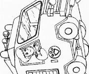 Coloriage et dessins gratuit Sam le Pompier 9 à imprimer