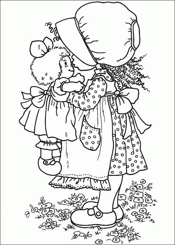 Coloriage et dessins gratuits Dessin Sarah Kay coloriage à imprimer