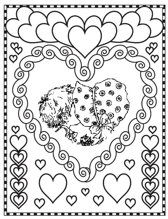 Coloriage et dessins gratuits Sarah Kay en ligne gratuit à imprimer