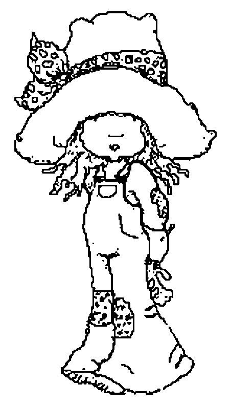 Coloriage et dessins gratuits Sarah Kay simple à imprimer