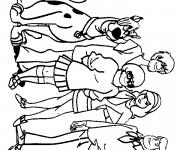 Coloriage et dessins gratuit Scooby doo gratuit à imprimer