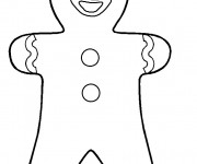 Coloriage Gingy Shrek