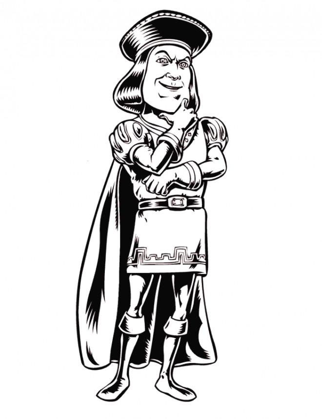Coloriage et dessins gratuits Shrek: Lord Farquaad à imprimer