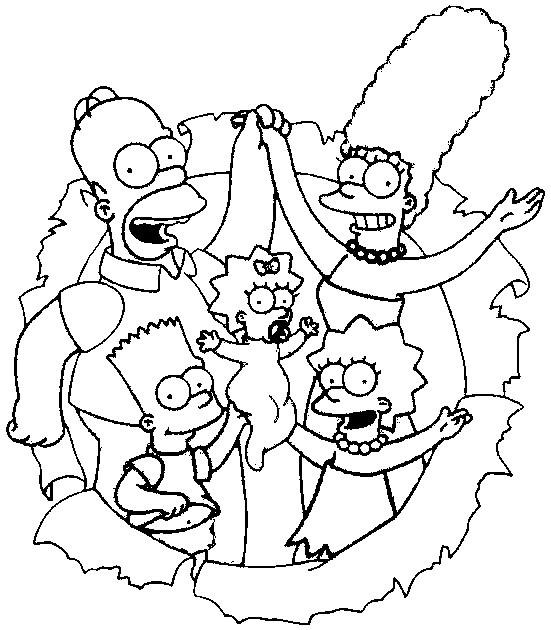 Coloriage Dessin Des Simpson Dessin Gratuit 224 Imprimer