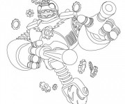 Coloriage Dessin Skylanders Bouncer