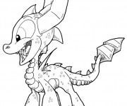 Coloriage Image Skylanders animé