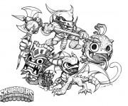 Coloriage dessin  Skylanders 10