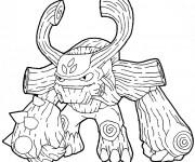 Coloriage dessin  Skylanders 14