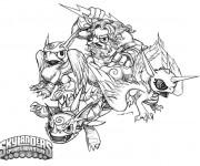 Coloriage et dessins gratuit Skylanders 16 à imprimer