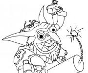 Coloriage dessin  Skylanders 17