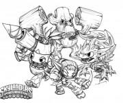 Coloriage dessin  Skylanders 3