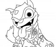 Coloriage dessin  Skylanders 7