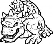 Coloriage Skylanders Bash