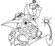 Coloriage et dessins gratuit Skylanders Boomer à imprimer
