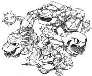 Coloriage et dessins gratuit Skylanders dessin animé à imprimer