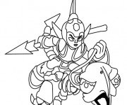 Coloriage Skylanders Fright Fighter