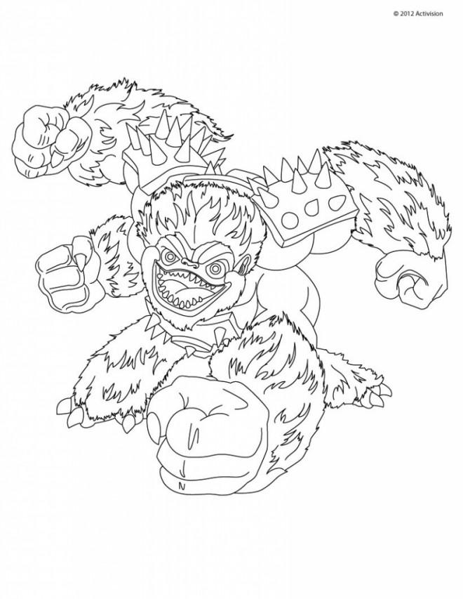 Coloriage et dessins gratuits Skylanders Giant en ligne à imprimer