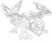 Coloriage Skylanders Giants Drobot