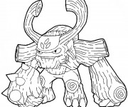 Coloriage Skylanders Giants facile
