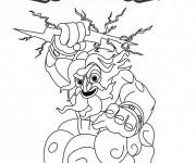 Coloriage Skylanders Giants Thunderbolt